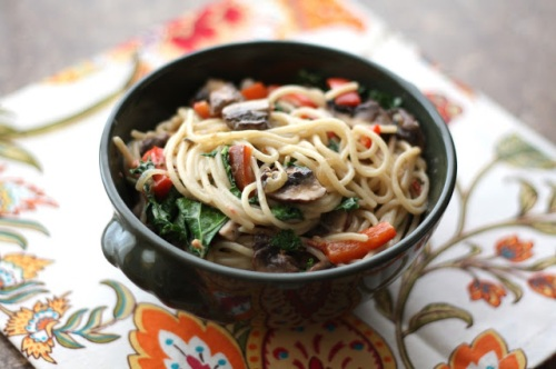 chipotle pasta with kale 4
