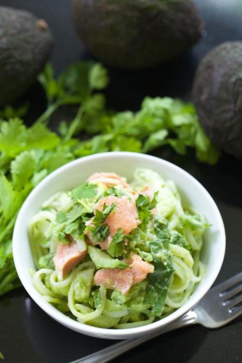 Rice-Noodle-Bowls-with-Avocado-Dressing-and-Bok-Choy-GI-365-4